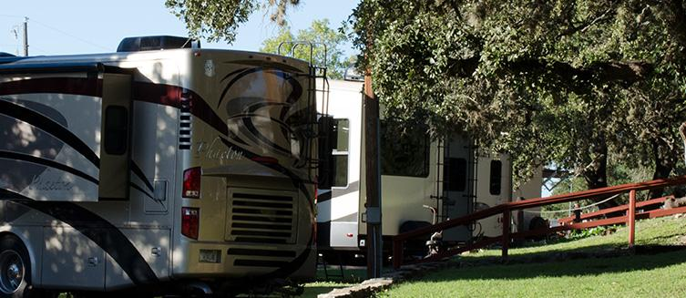 Lake Pointe RV Resort RVs
