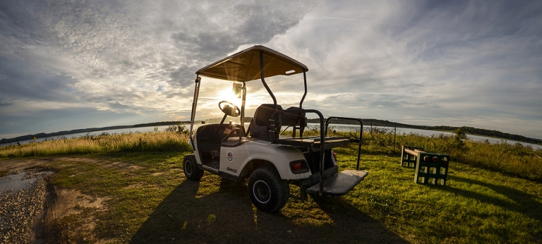 Golf Cart at the pointe